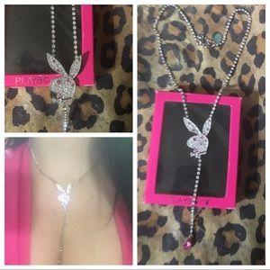 SUPER RARE HTF vintage playboy bunny necklace